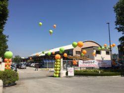 inaugurazione con palloni