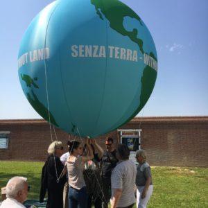 pallone gigante in pvc stampato e personalizzato