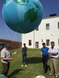 pallone aerostatico in pvc