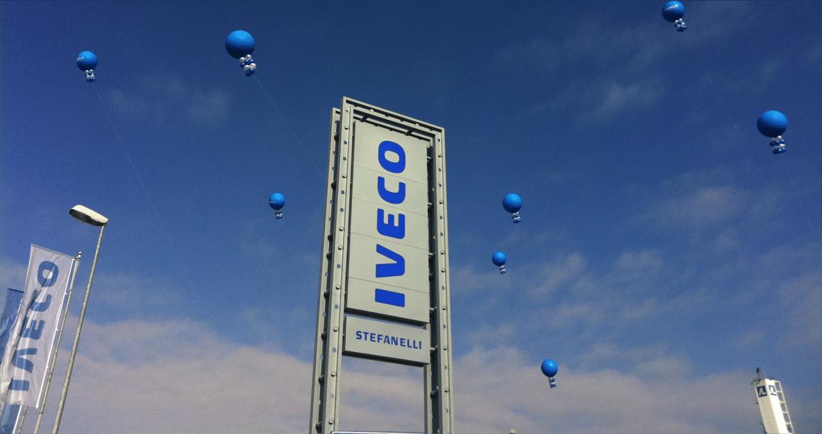 palloni giganti concessionarie