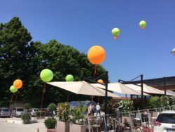 palloni per inaugurazione