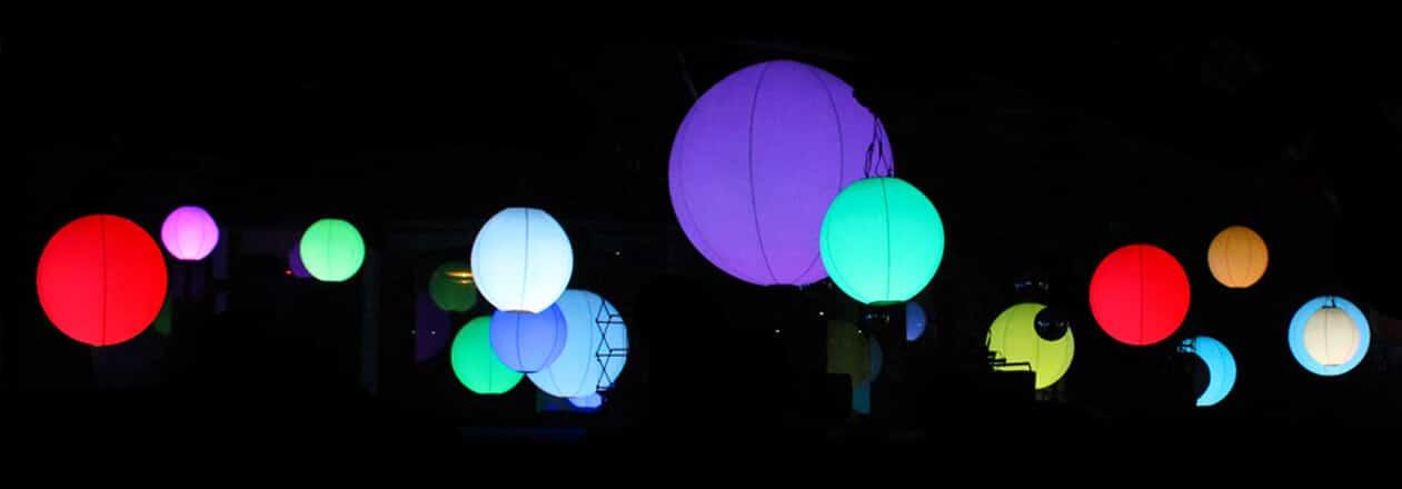 sfera con ventola elettrica