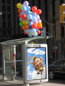 street marketing con i palloncini