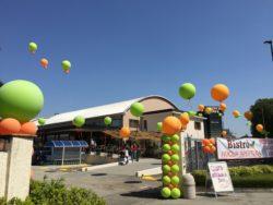 totem di palloncini