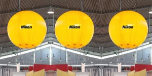 pallone gigante in pvc