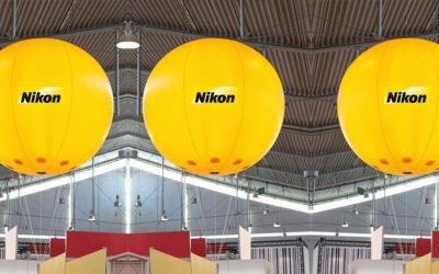 Pallone gigante in PVC per essere visibile..sempre!