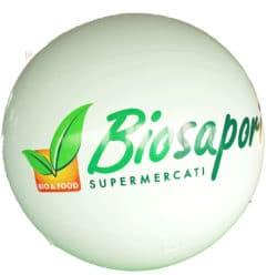 pallone gigante in pvc biosapori