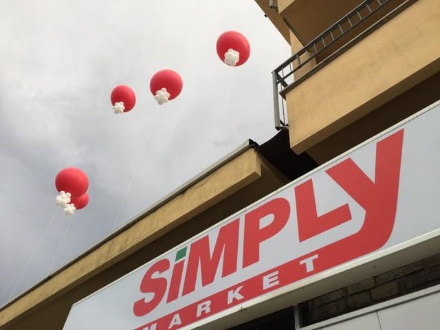 Palloni Giganti ad elio e inaugurazioni