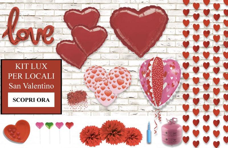 kit lux locali san valentino partylandia