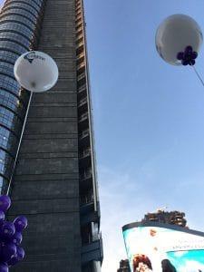 marketing emozionale palloni giganti
