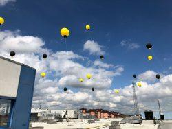 inaugurazione palloni