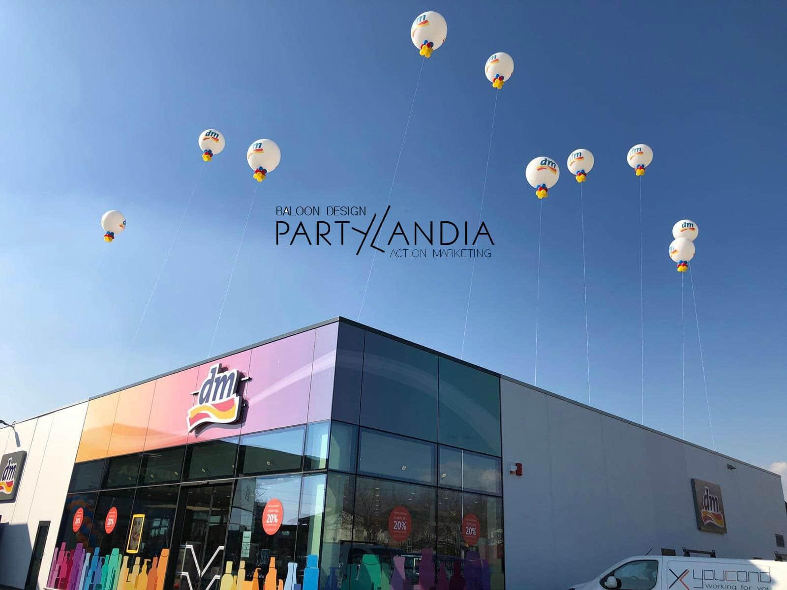 palloni giganti per inaugurazione
