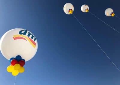 palloni stampati da mettere sul tetto