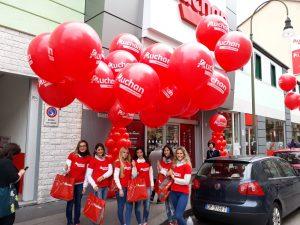 palloni giganti street marketing