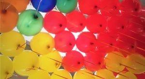 palloncini colori misti