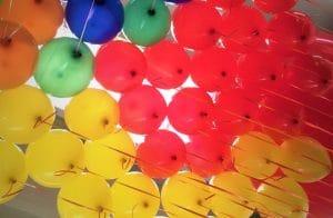 palloncini multicolor