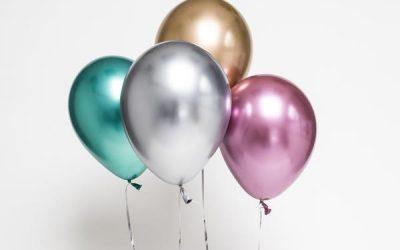 Palloncini Cromati: il glamour a portata di tutti!
