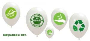 palloncini ecologici