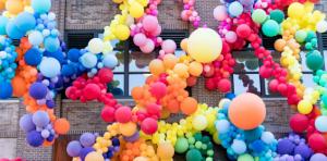 Allestimenti scenografici con palloncini