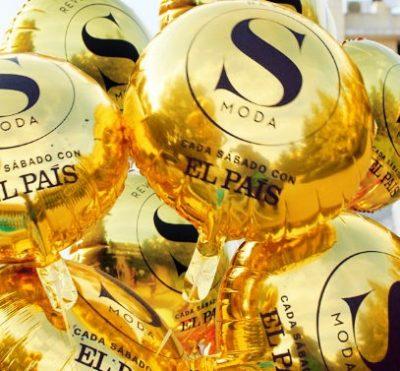 palloncino oro poliestere