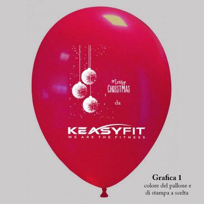 palloncino rosso di natale