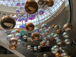 palloni gonfiabili oro