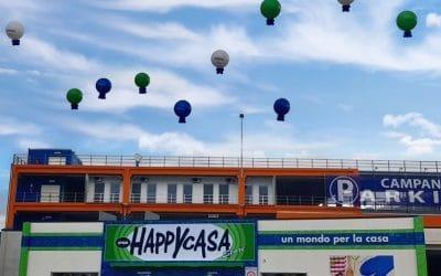 Palloni sul tetto ed è subito festa!