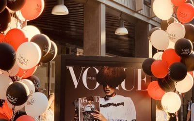 Palloncini e Street Marketing: Evento Vogue a Milano