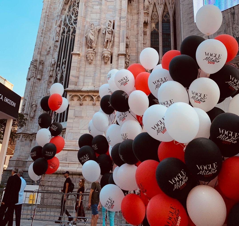 palloncini personalizzati vogue