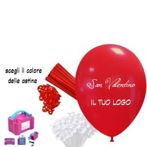 kit palloncino rosso