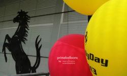 idee eventi ferrari palloncini