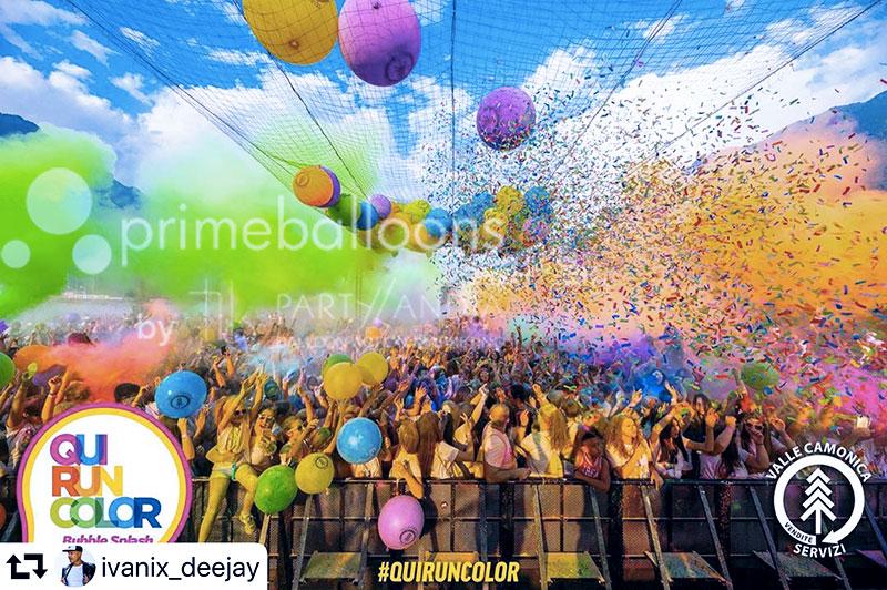 idee originali per eventi con palloncini