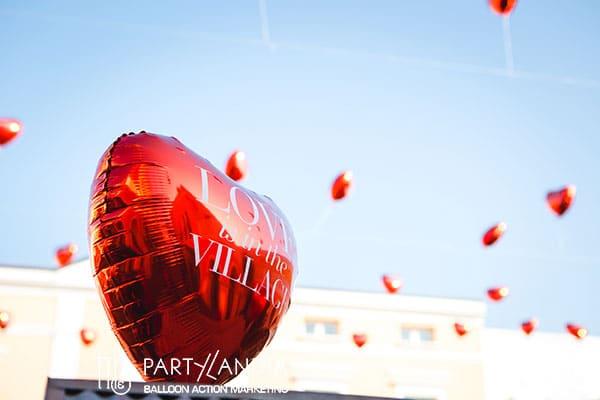 palloncini san valentino a cuore