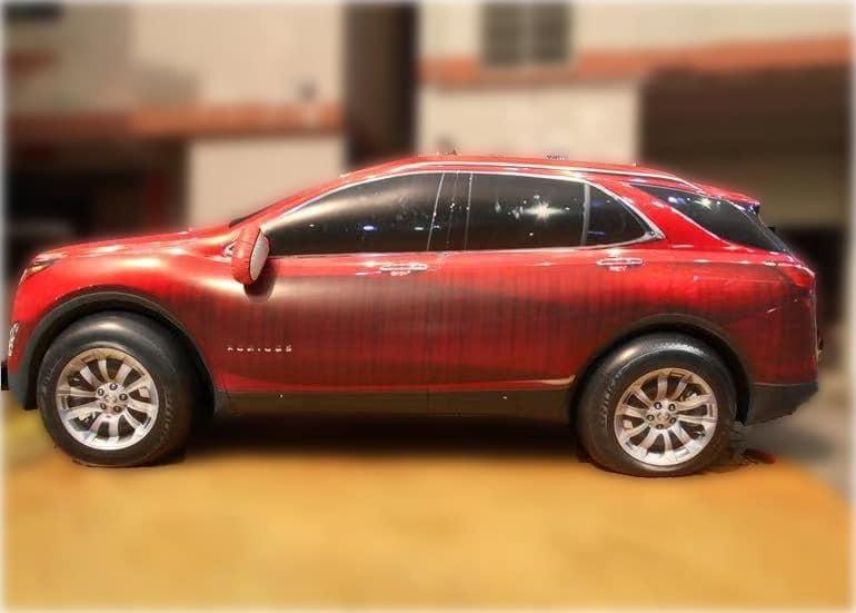 Automobile gonfiabile Modello Skoda