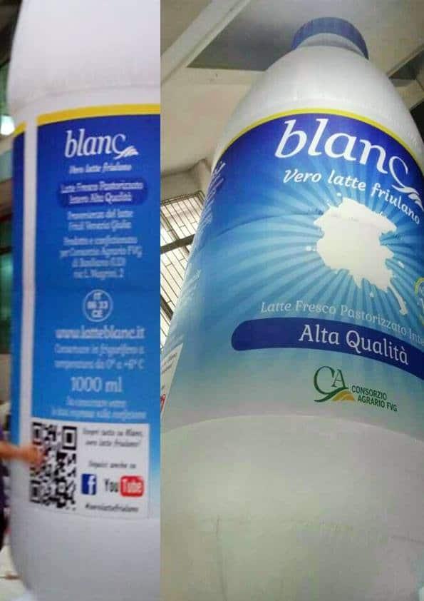 bottiglia logo personalizzato