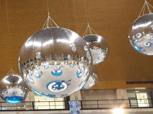 sfere illuminate