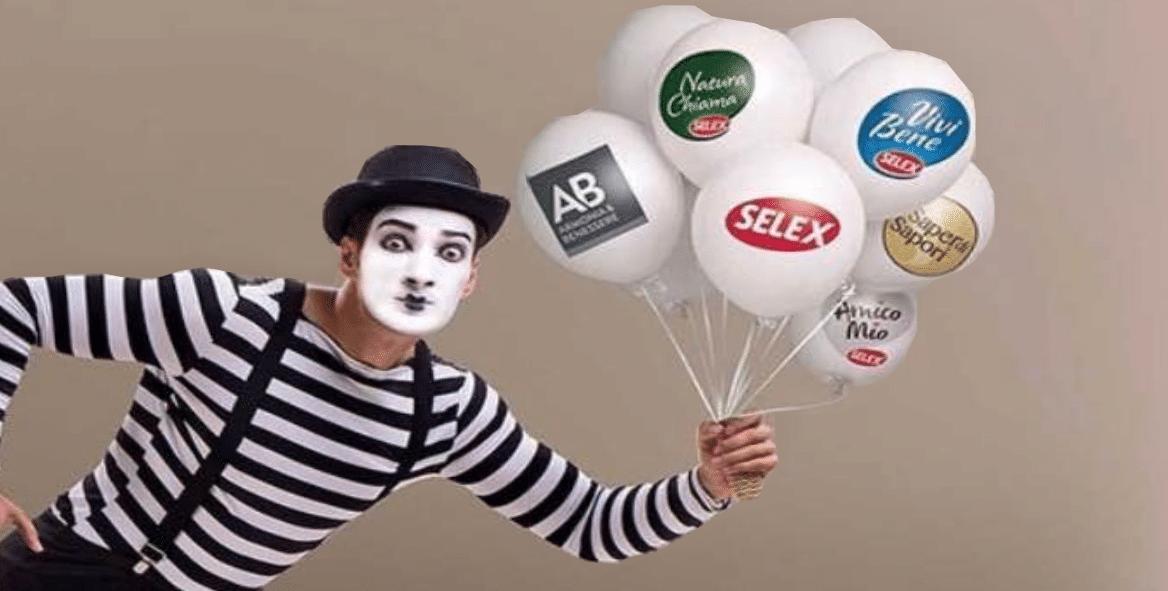 palloncini personalizzati a elio