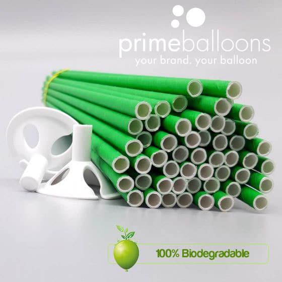 stecchette per palloncini biodegradabili