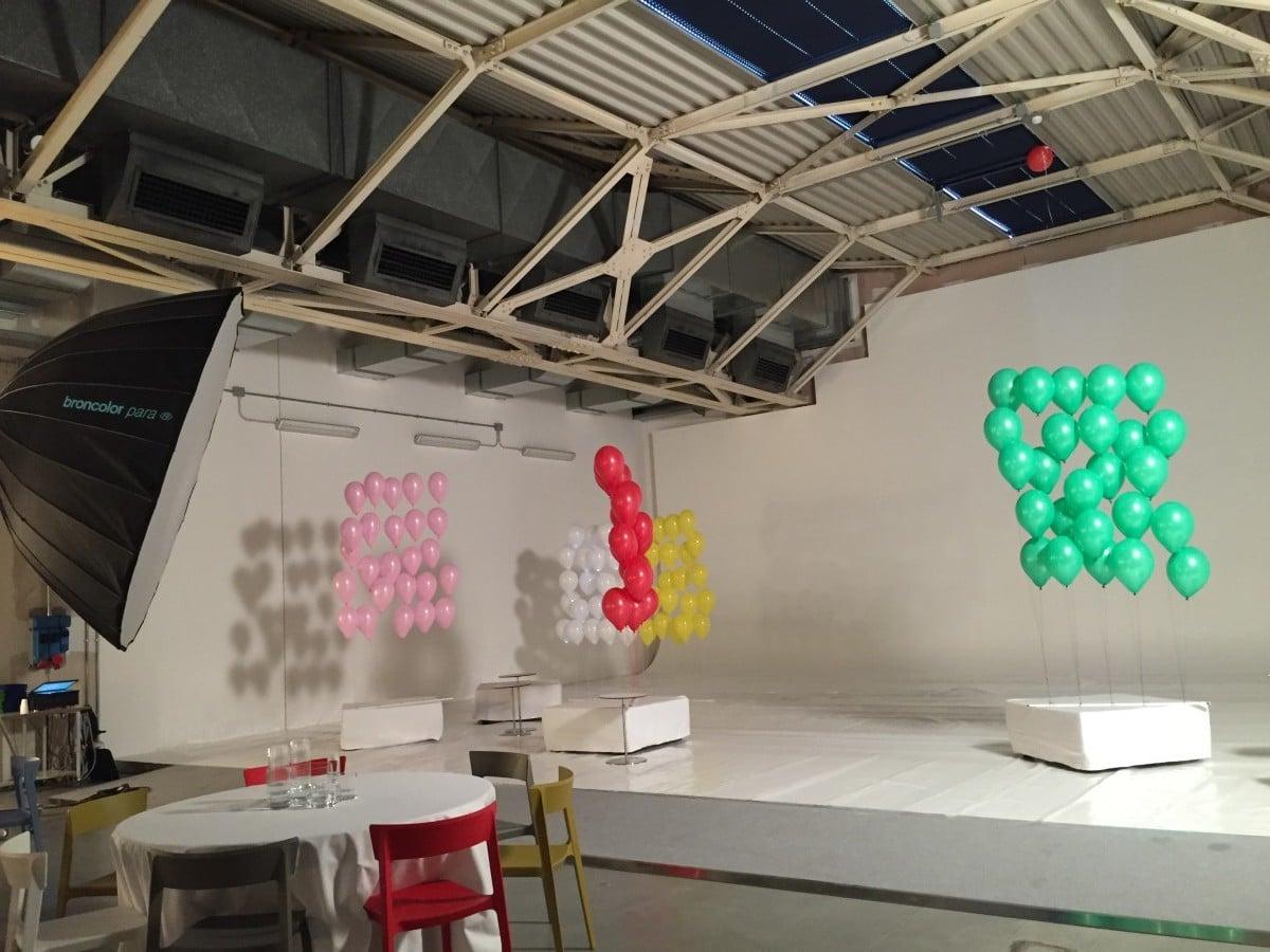 palloncini per coreografie