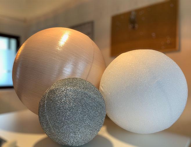 palle di natale giganti