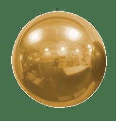 fere specchiate in oro per natale